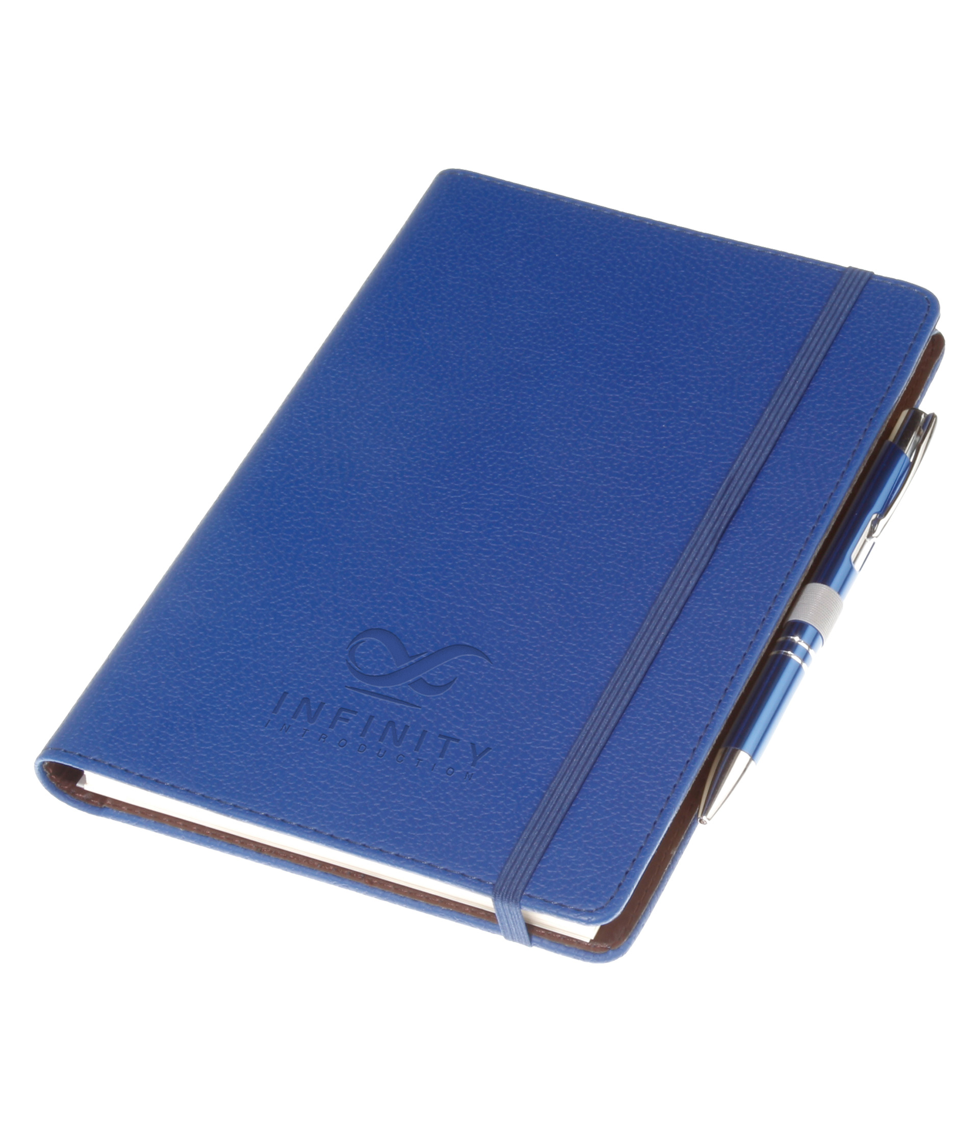 HIDDEN SPIRALLY THERMO LEATHER NOTEBOOK