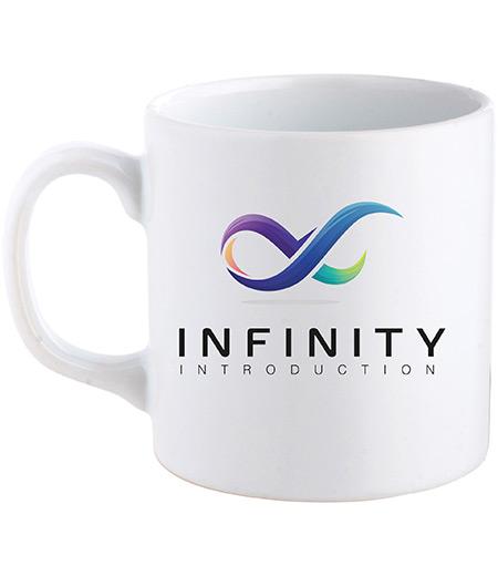 CERAMIC WHITE CUP