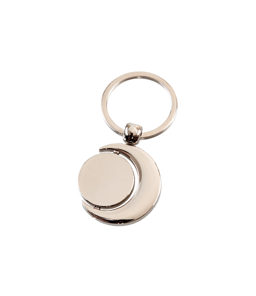SINGLE-SIDED METAL KEY CHAIN