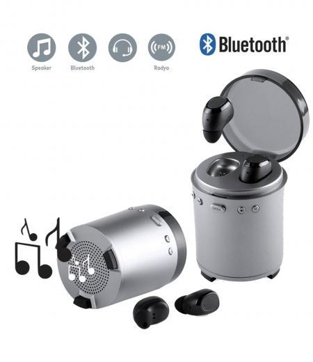 Bluetooth Hoparlörlü Nikolay Kulaklik
